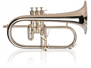 Red-Brass-Silver-Plated-flugelhorn